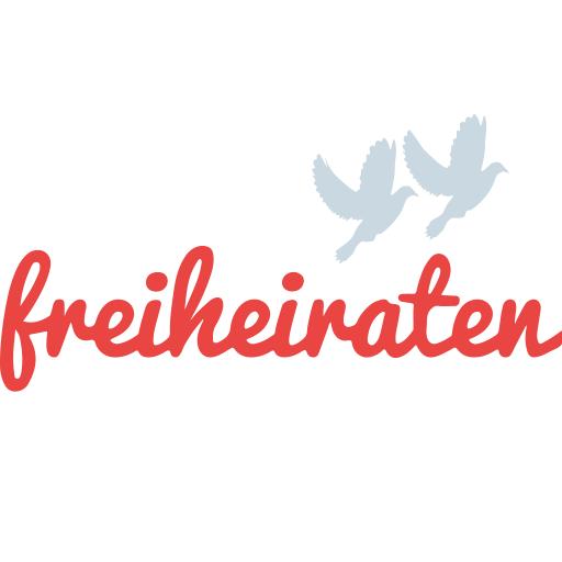 Das Logo von freiheiraten_Individuelle Trauzeremonien