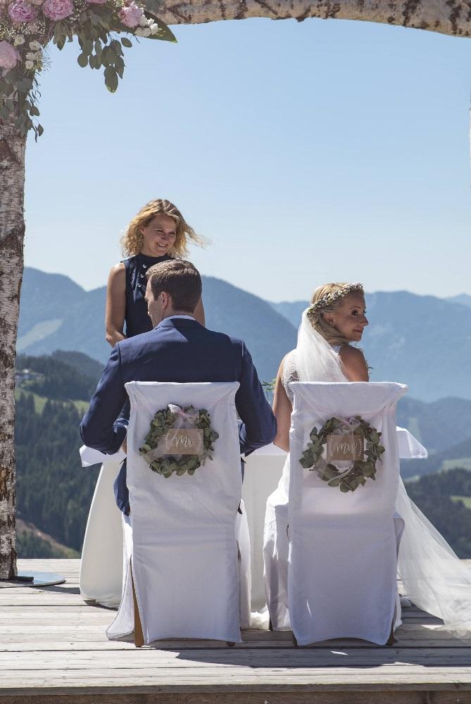 Beginn der freien Trauung mit freiheiraten und Traurednerin Ingrid aus Heidelberg