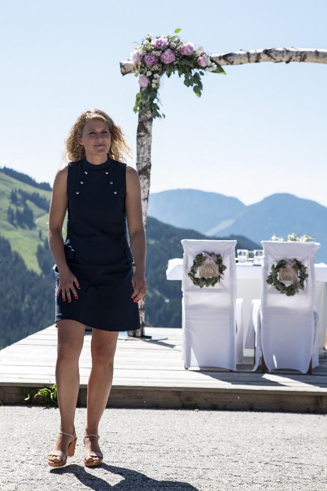 Traurednerin Ingrid in Tirol
