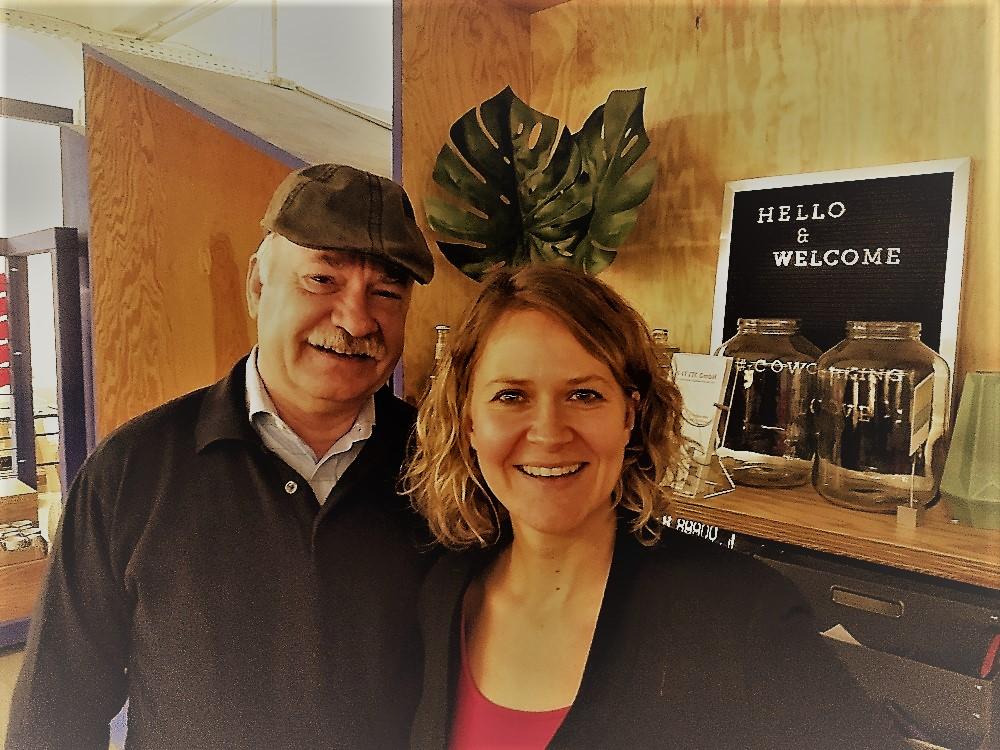 Freier Redner Rainer A. Himmel und Ingrid Rupp von freiheiraten