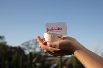 Visitenkarte freiheiraten