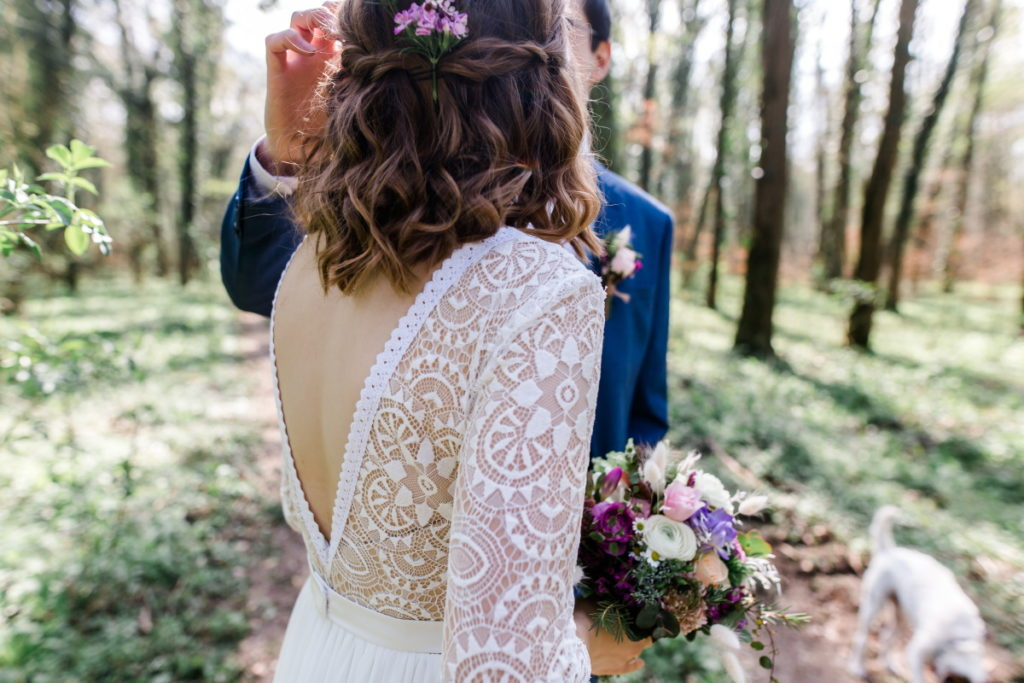 Hochzeit im April
