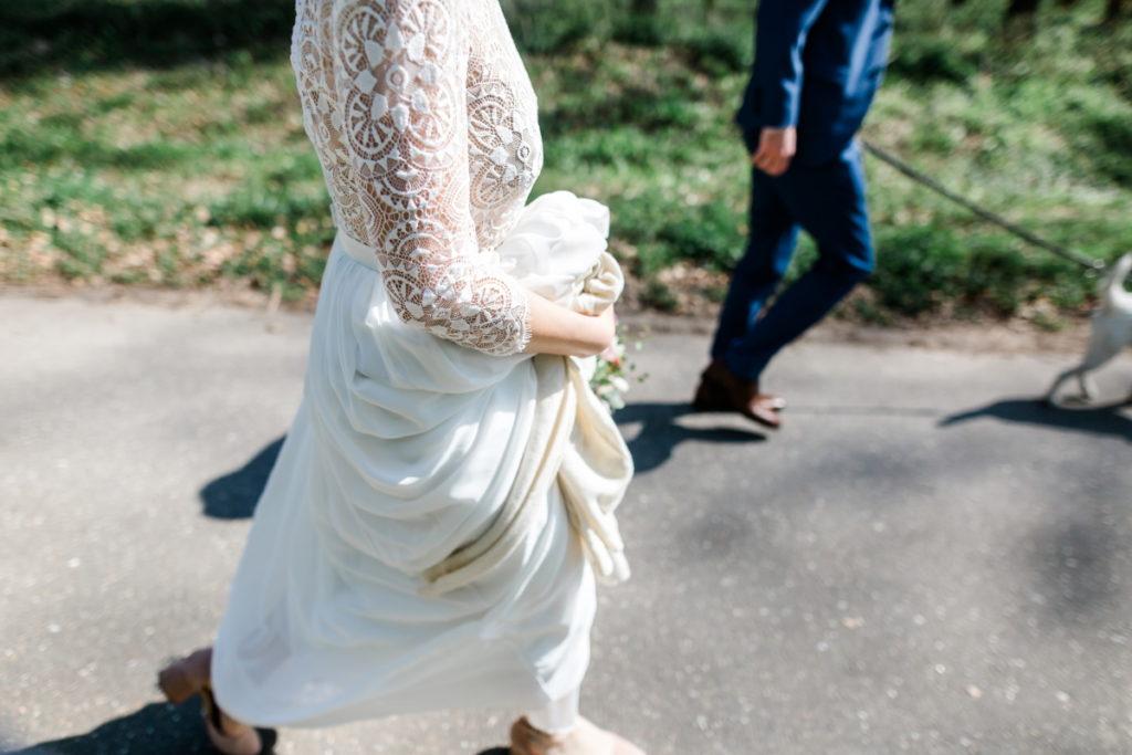 Kleines Hochzeitsshooting im Wald