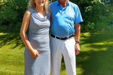 Dr. Ingrid Rupp und Dietmar Hopp