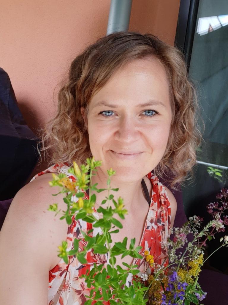 Blumen für Traurednerin Ingrid aus Heidelberg