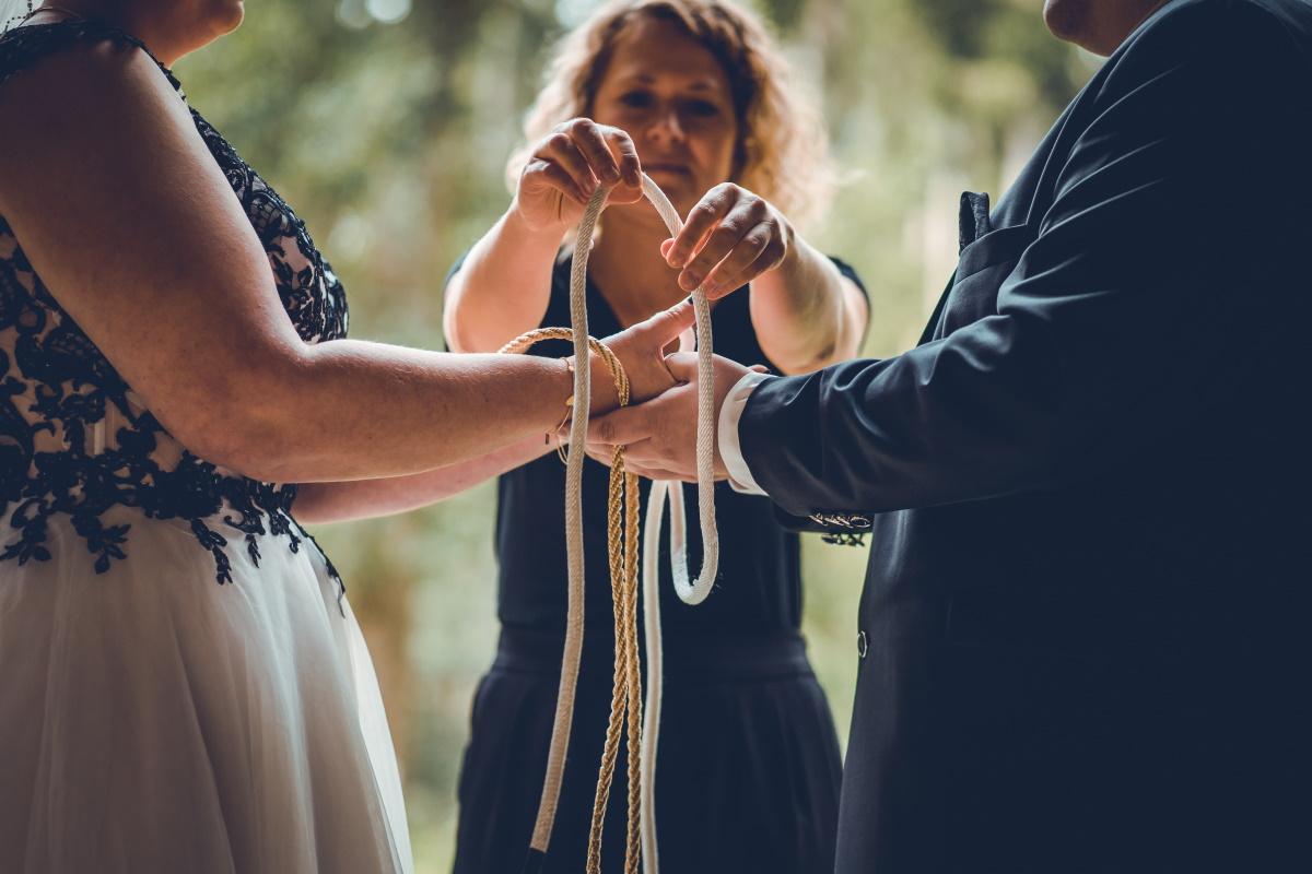 Hochzeitsritual Knoten