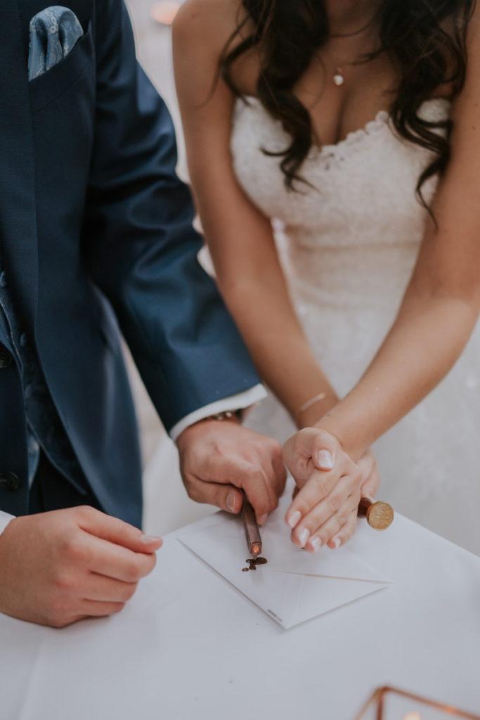 Versiegelung des Eheversprechens