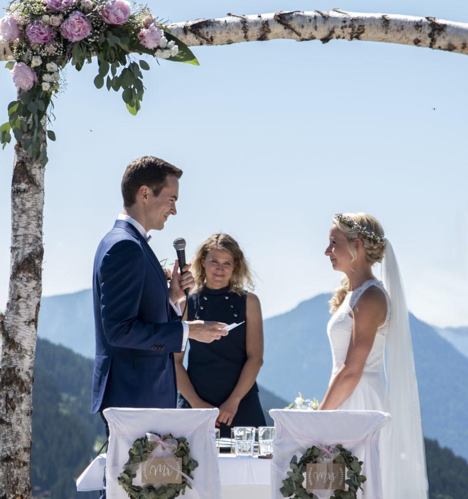 Freie Trauung Alpenhochzeit
