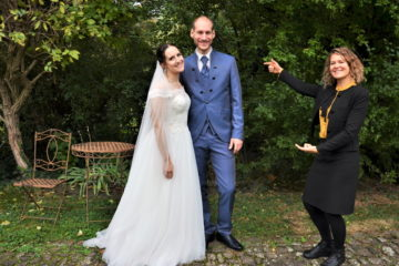 Brautpaar im Grenzhof Heidelberg